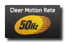 Clear Motion Rate 50Hz