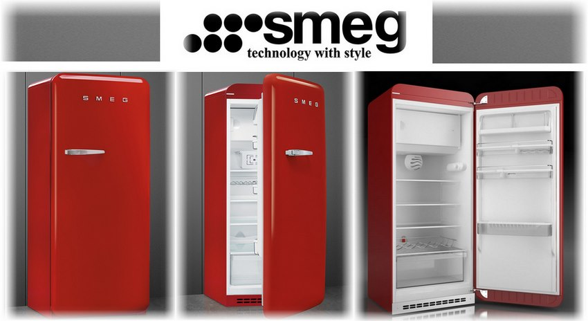 Smeg retro collection серия FAB