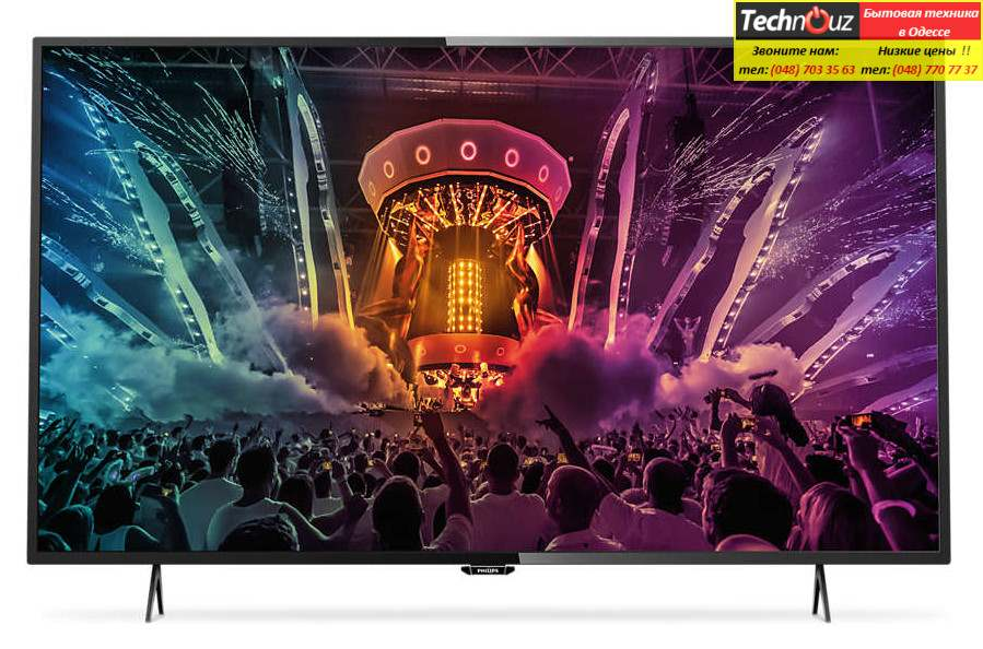 LED телевизоры PHILIPS 55PUS6101/12