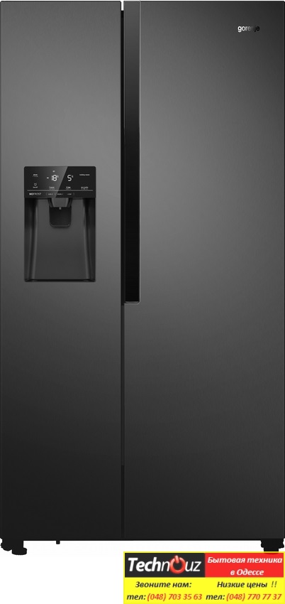 Холодильники Side by Side gorenje NRS9182VB