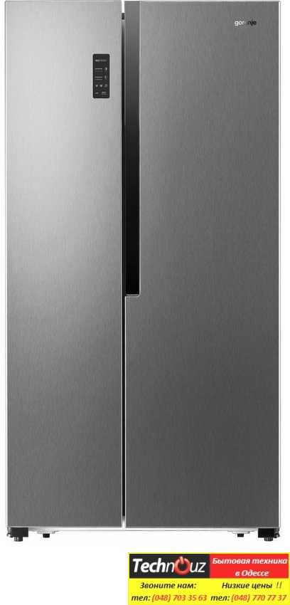 Холодильники Side by Side gorenje NRS9181MX